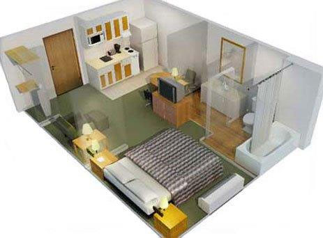 Extended Stay Floor plan