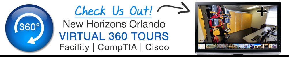360 Tour of New Horizons Orlando